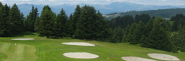 Flaine golf summer